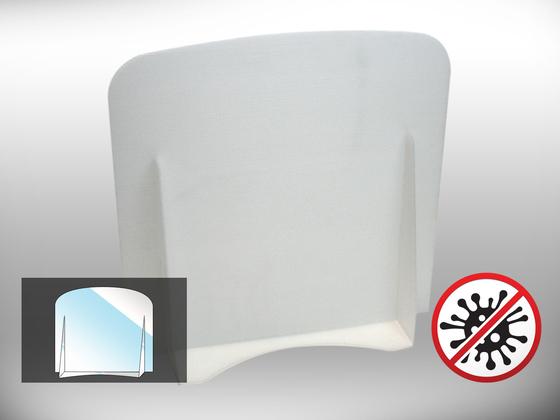 Ochranná dělící přepážka Office 1 (bílá)