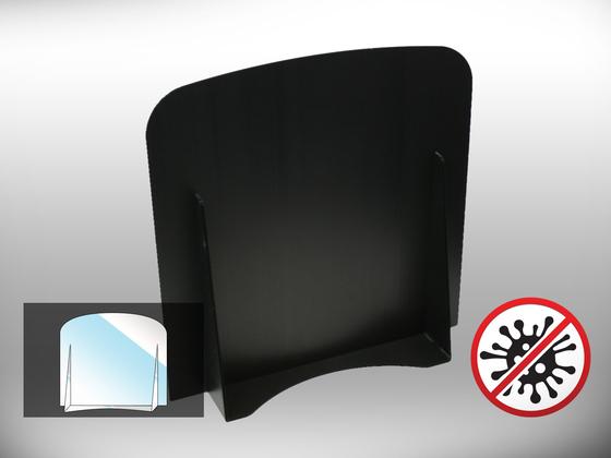Ochranná dělící přepážka Office 1 (černá)
