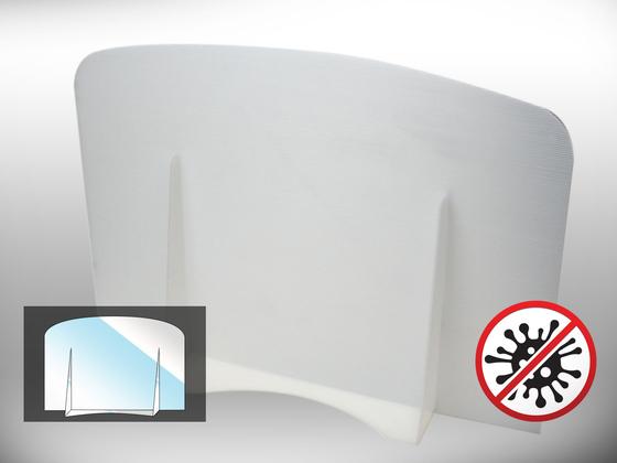 Ochranná dělící přepážka Office 2 (bílá)