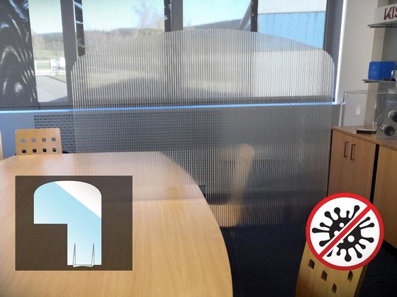 Ochranná oddělovací přepážka Office X