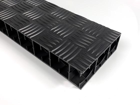 PP deska ANTISLIP černá 1200x1000x50mm
