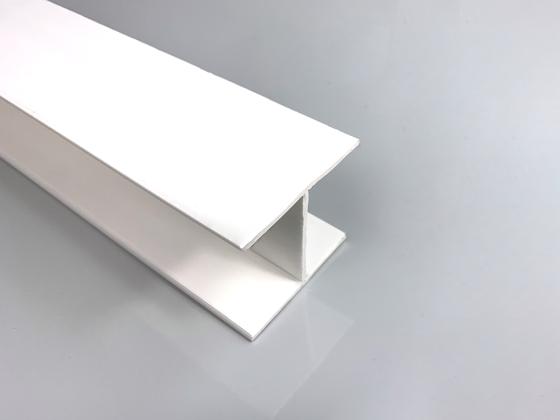 PP H-profil bílý 3 m