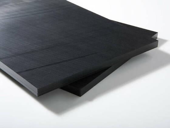 PE500 deska černá Nuclear s borem 2000x1000x20 mm