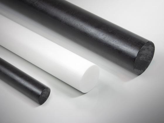 Polyethylenové tyče PE300 (PE-HD)