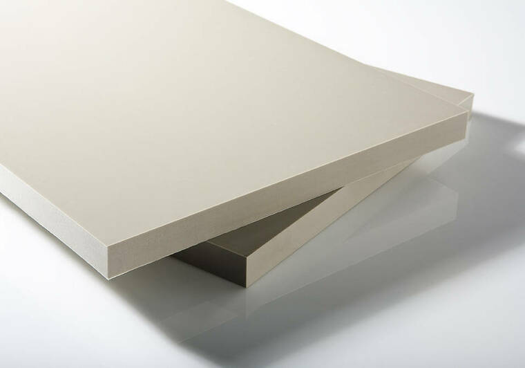 PP-C deska 1500x1096x3mm, šedá s UV stabilizací