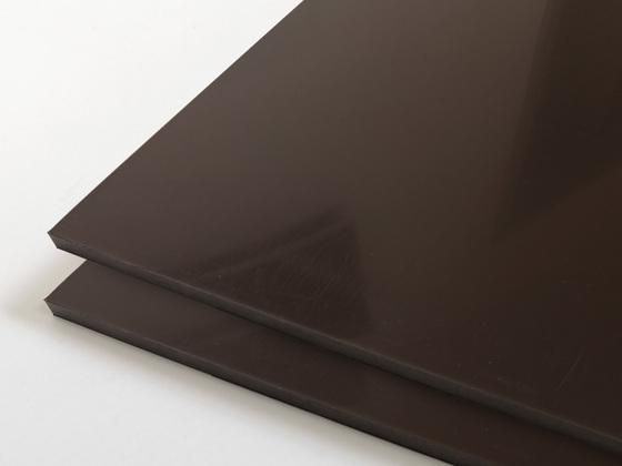 PP-R deska recyklát hnědá 3000x1500x10mm