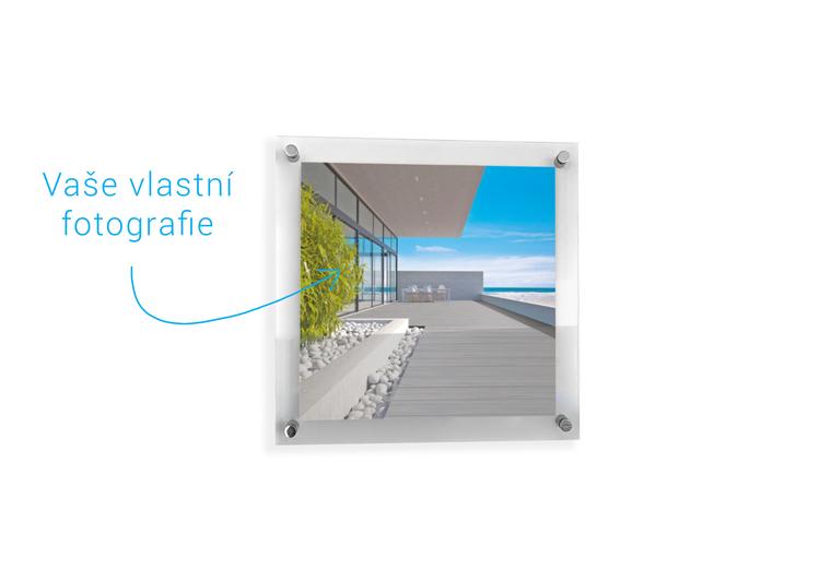 Fotoobraz na akrylovém sklu 50x50 cm
