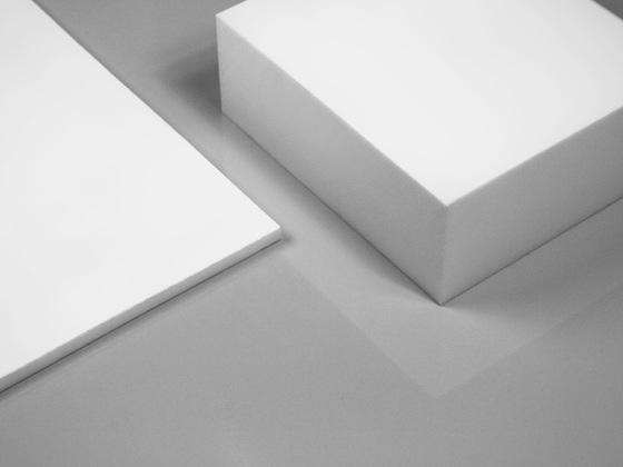 Teflonové desky, PTFE, natur