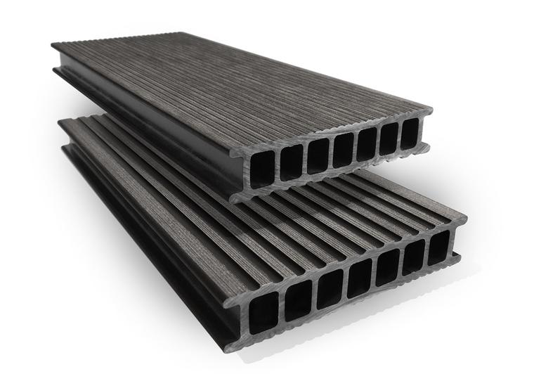 Prkno terasové dřevoplastové Twinson Terrace odstín lékořice