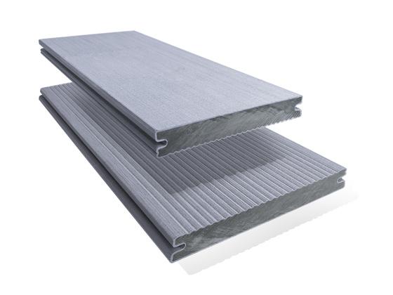 Prkno terasové dřevoplastové Twinson Massive odstín břidlice