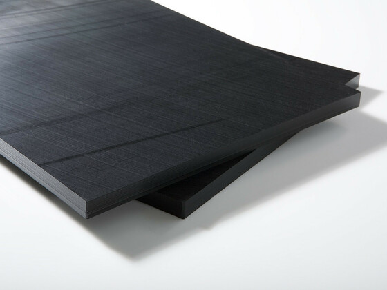 Polyoxymethylenové desky, POM-C, černá