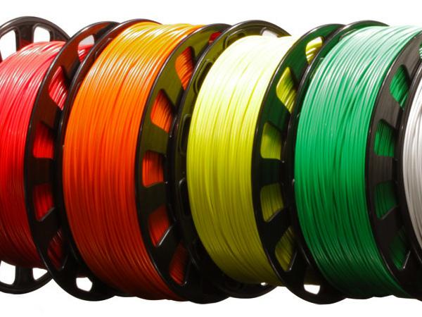 3D struny, filament