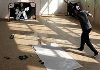 hockey shooting pad