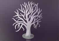 Svatební strom, před osazením