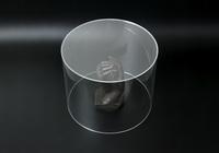 Válcová  vitrína z plexiskla čirá