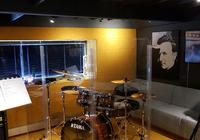 Akustická stěna v nahrávacím studiu