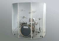 Akustická stěna pro bicí