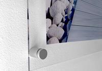 Plexisklový obraz na stěnu – upevněný pomocí distančních podložek