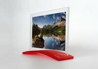 Stojánek na fotografie 100 x 150 mm (odstín Strawberry 3C04)